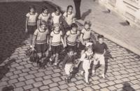 1934 - on exercises with Sokol