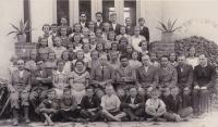 1932 - the first grade with their teacher