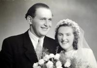 Svatební fotografie pamětnice