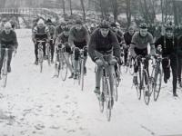 Race in winter in Brno