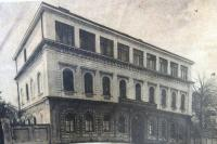 Building of the Jewish Grammar School in Brno, 1930s