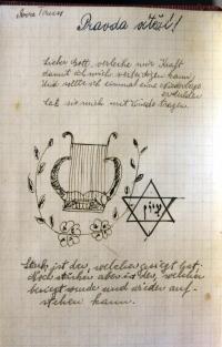 Page of Eva´s diary