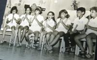 Flute ensemble of the Matzuva kibbutz, 1970
