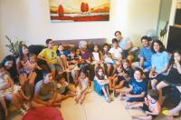 24 great-grandchildren of Chava Doron.