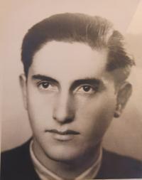 Antonín Moťovič, Prague around 1946.
