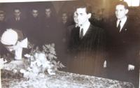 Wedding photograph, Prague November 1952