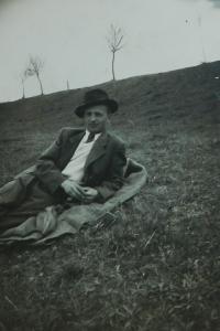Strýc Alois Jánský ze Seče zapojený do partyzánské činnosti