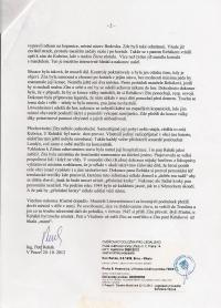 3.a Prohlášení P. Reháka o ukrývání Zity