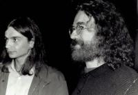 Martin Hassa with Jaroslav Hutka / Budapest 1988