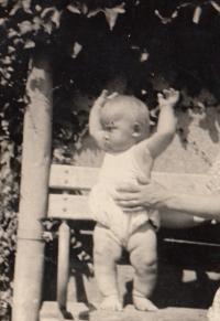 Václav Andres v roce 1944