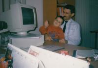 Václav Andres jako obchodní ředitel KOB Investu v roce 1996