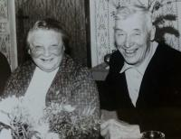 František a Anna Volní, manželé