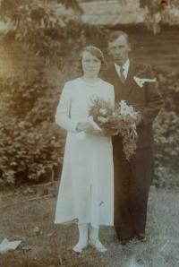 Svatba - František a Anna Volní