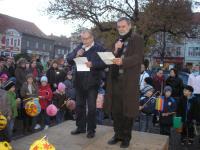 With Liborem Dobnerem Hájích - anniversary of the school