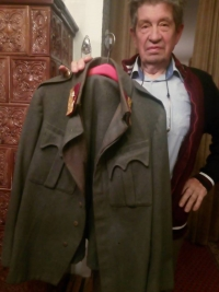 His grandfather´s uniform from the WWI