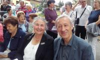Marta with her husband Zdeněk