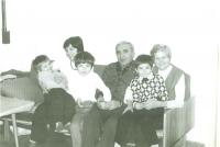 Vánoce 1983, foto, které poslala žena Milanu Beranovi do vězení