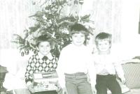Vánoce 1983, foto, které poslala žena Milanu Beranovi do vězení 2