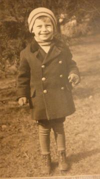 Childhood photo 1
