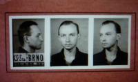 Ž4 - Policejní foto pátera Bohumila Koláře z 25. 8. 1952