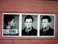 Police photo of student Leoš Žídek (19th August 1952)