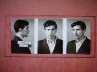 Police photo of Jan Janoušek, friend of Jaroslav Vrbenský from the 1950s student catholic ´circles´