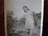 Vlasta Moravcová before Nazi okupation