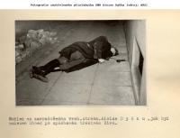 Zavražděný Alois Dyčka