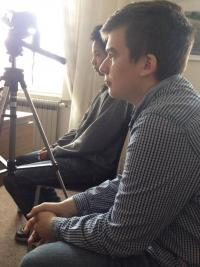 Pupils during interview