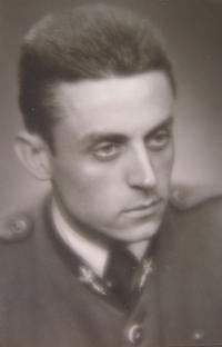 M. Janda v době maturity 1951