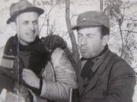 Janda se spolužákem Stanislavem Mottlem