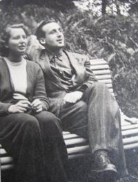 Eva Mádrová s manželem
