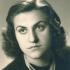 Marta Dittrichová (maturitní fotografie z roku 1942)