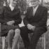 Maminka a tatínek paní Jarmily. Jarmila Karlíková (roz. Boháčová) - sestra Stanislava Boháče a Marie, provdané Schmoranzové (za Gustava). Na fotografii je vidět maminčino zranění levého kolene z práce.