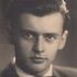 Maturitní fotografie Jaroslava Běla z roku 1947