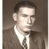 Ladislav Hladík v osmnácti letech (1945). Ten samý rok mu přišel povolávací rozkaz k nástupu na opevňovací práce