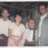 Nay Win, his wife and his colleague Ko Kyaw Mya