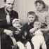 Václav Blabolil s rodinou, cca 1959