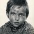 Roman Skamene v roli malého Saši ve filmu Útěk z roku 1967