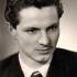 Vladimír Dvořáček, maturitní fotka, rok 1955