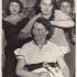 Eva Hoskovcová, ochotnický spolek Na nádraží, divadelní hra Paní móda vládne věky, cca 1954-55
