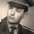 Jan Pokorný jako student prvního ročníku Vojenské lékařské akademie Jana Evangelisty Purkyně v Hradci Králové (v r. 1958 přejmenovaná na VLVDÚ JEP), 1957