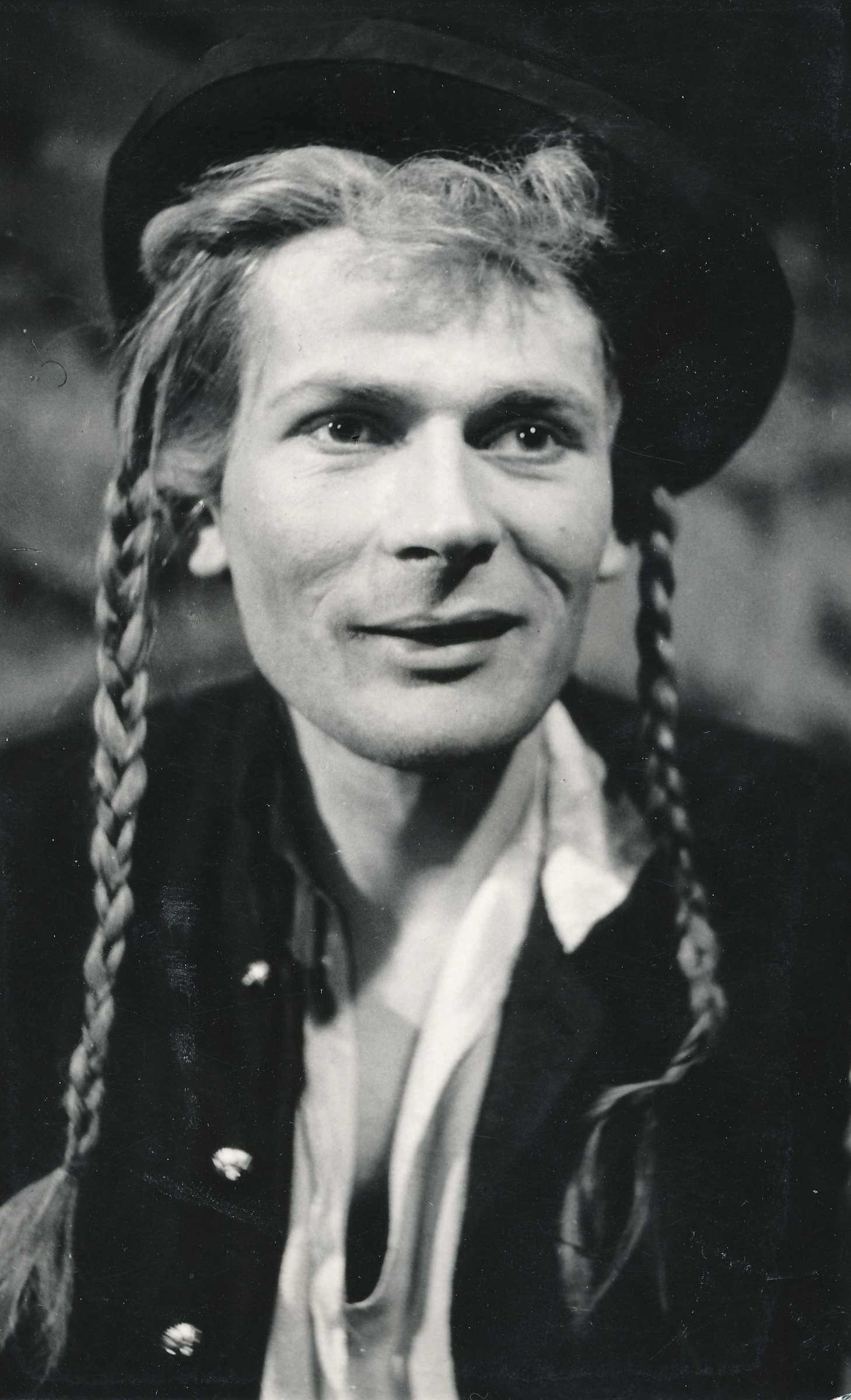 As Jánošík (from Jiří Mahen's play directed by Jan Strejček)