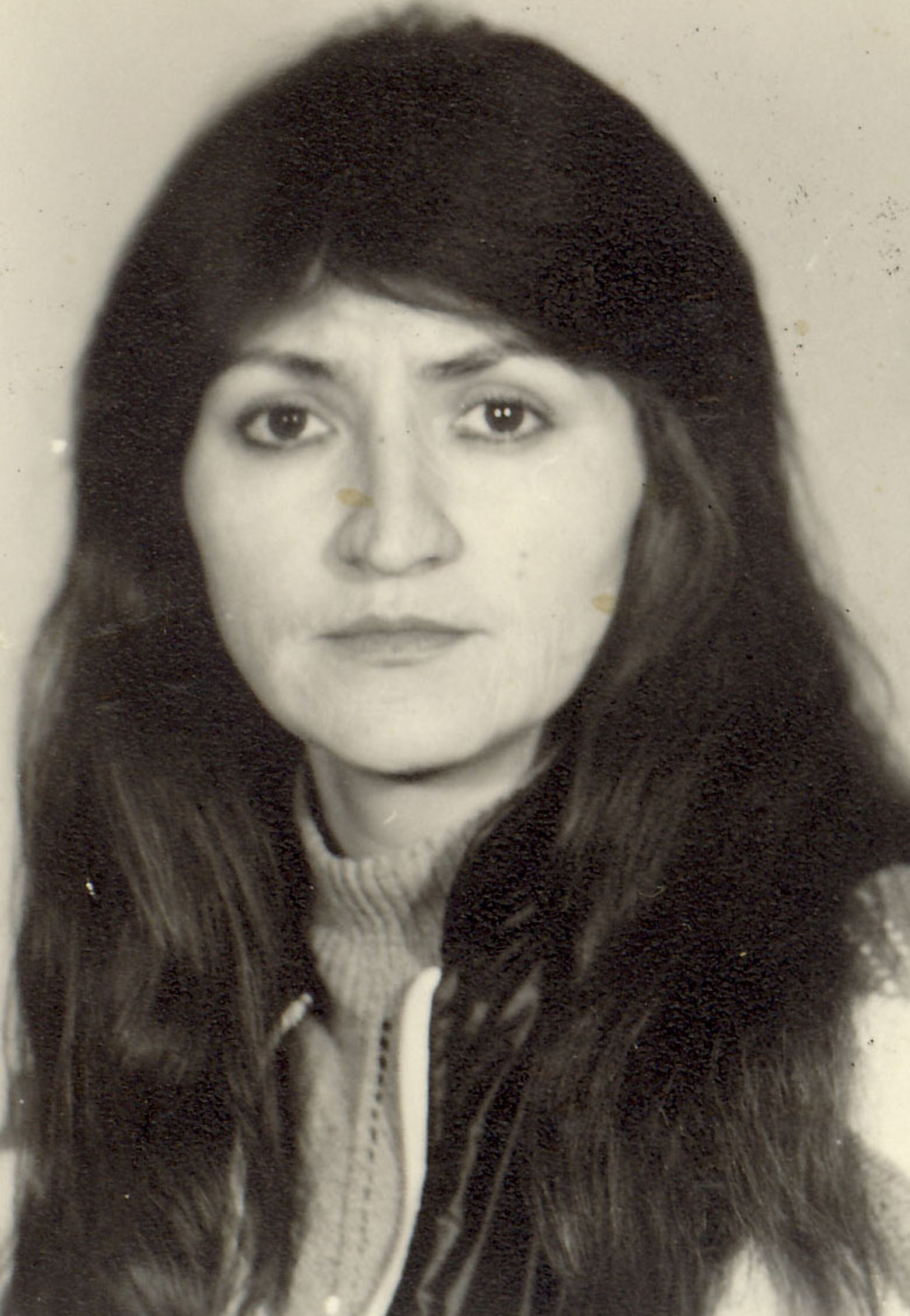 Cecilia Jugănaru in the '80's