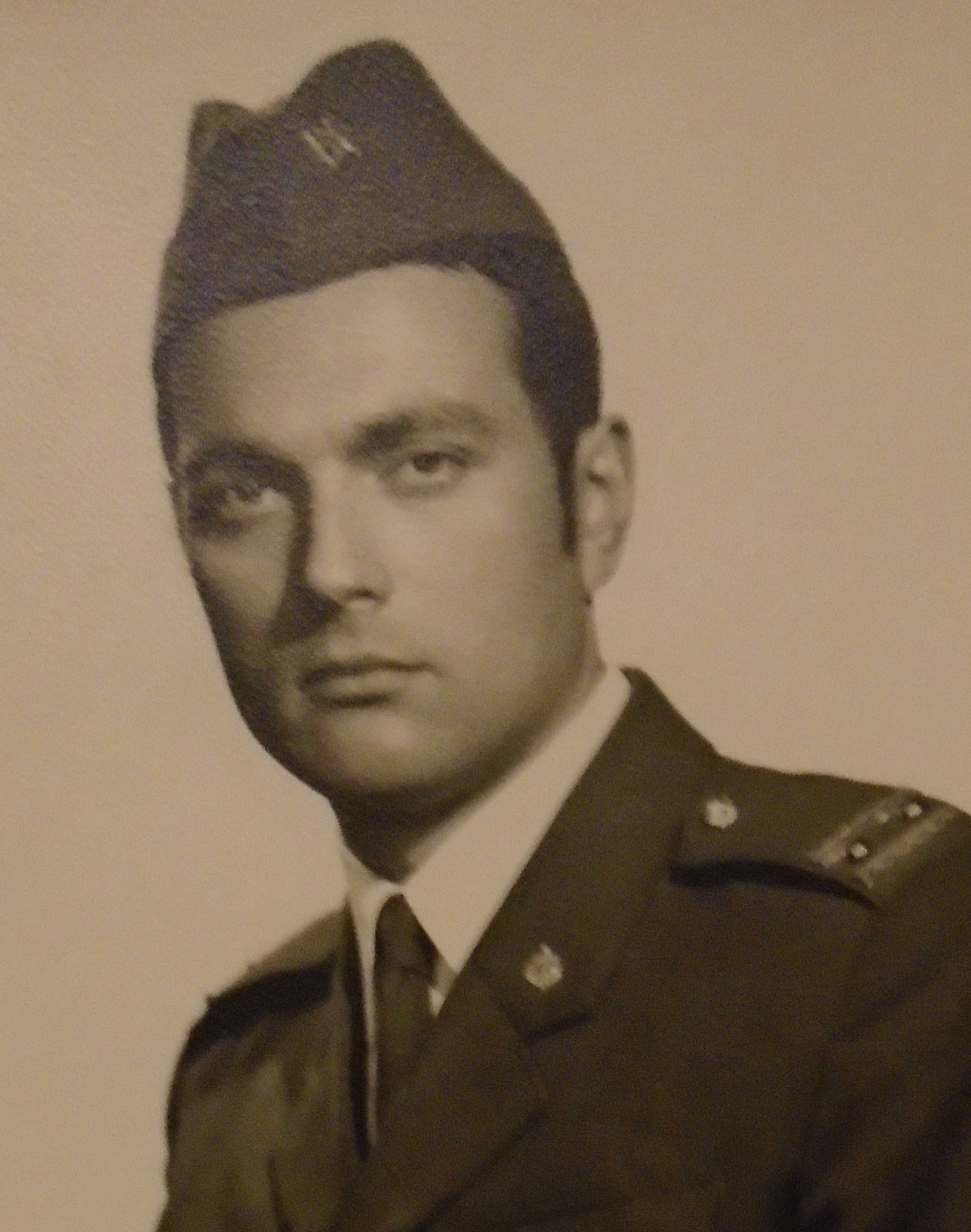 Detail photo of Vit Ryšánek in the army in 1968